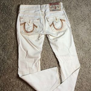 Men's Rainbow Joey True Religion Jean 31/33